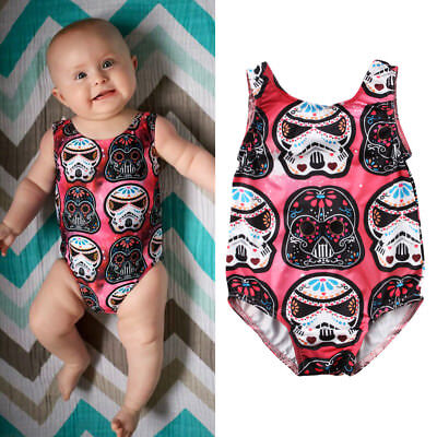 Cute Newborn Baby Boys Girls Star Wars Bodysuit Romper Jumpsuit Outfit Clothes
