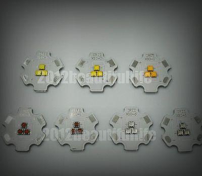 CREE XB-D XBD 9-10V 3-chips R/G/B/W/Y 9W High Power Led Emitter with 20mm pcb