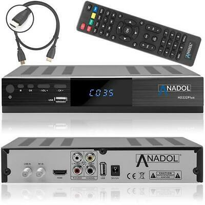 Anadol HD 222 Plus HD HDTV digitaler Satelliten-Receiver (HDTV, DVB-S2, HDMI)