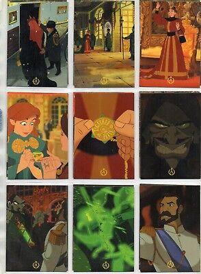 Anastasia  From Disney      Full   Set of Trading Cards   99    Cards