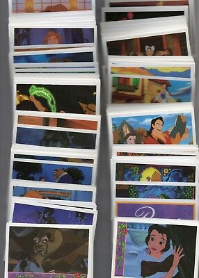 Beauty And the Beast Mega Set 198 Cards Italian    Full Set of Trading Cards