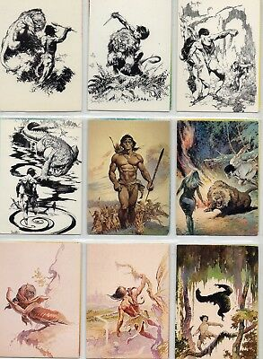 Frank Frazetta   Set  2   1993       Full Set of 90   Trading Cards