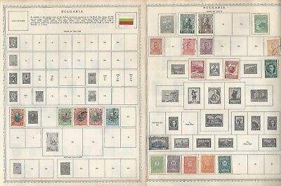 Bulgaria Collection 1882 to 1965 on 13 Minkus Global Pages