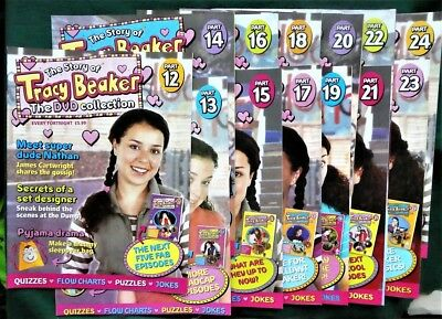 Lot Bundle of 13 x The Story of Tracy Beaker The DVD Collection - MAGAZINES ONLY