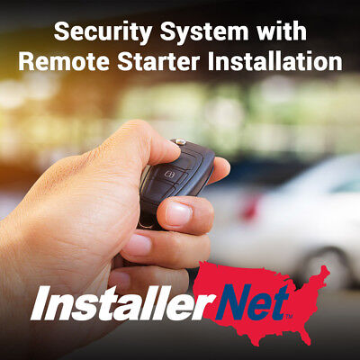 Car Security System & Remote Starter Install from InstallerNet-Lifetime Warranty