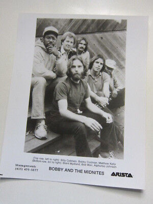 BOBBY & THE MIDNITES   8x10 photo