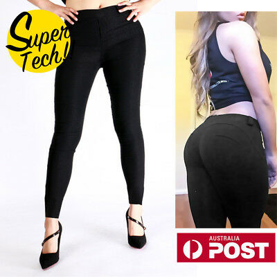 2018Womens Celeb Stretch Ripped Skinny Denim Pencil Pants Slim Jeggings Leggings