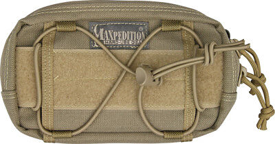 "Maxpedition 8001K Strap Range 8"" To 13"" Khaki JANUS Extension Pocket 8""x4""x1.5"""