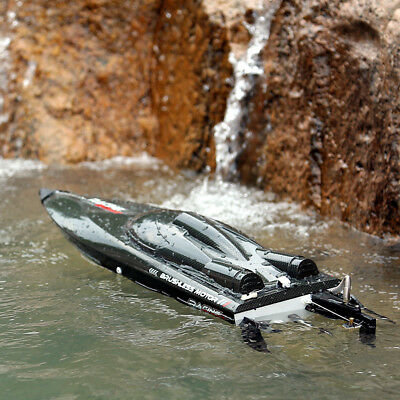 Feilun 55km/h FT011 Brushless Water Cooled Motor RC Racing Boat High Speed 2.4Gh