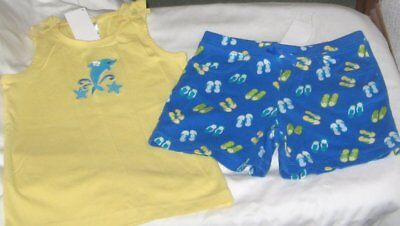 NWT Girls 3T GYMBOREE 2 Pc Outfit Shorts and Sleeveless Top NEW