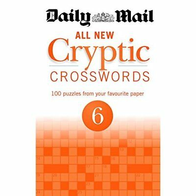 Daily Mail All New Cryptic Crosswords 6 (The Daily Mail - Paperback NEW Mail, Da