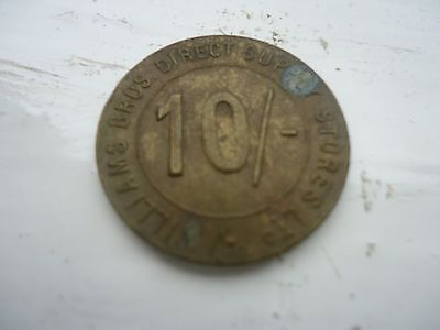 Williams Brothers Token 10/-