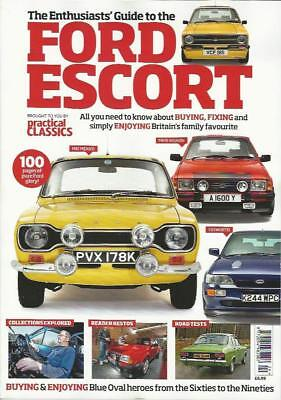 PRACTICAL CLASSICS GUIDE TO THE FORD ESCORT (NEW)*Post included to UK/Europe/USA