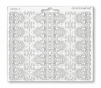 Staedtler Fimo Single ART NOUVEAU Texture Sheet Craft Art Fun 16.7cm x 14cm
