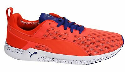 PUMA PULSE XT v2 FT Lace Up Orange Blue Textile Womens