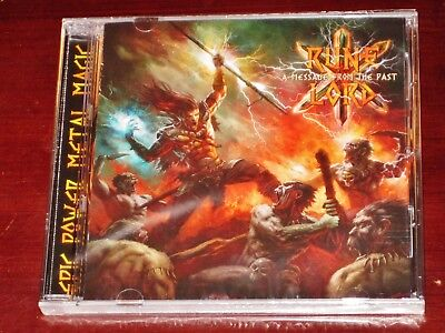 Runelord: A Message From The Past CD 2018 Stormspell Records USA SSR-DL-230 NEW