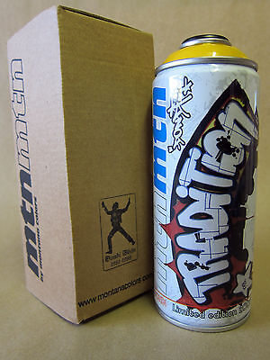 DONDI WHITE 2007 Limited Edition MTN Montana Spray Paint Can NEW 1 of 500 Made