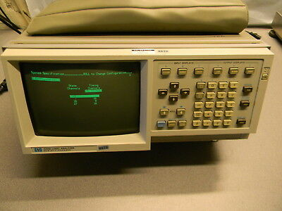 HP 1630D Logic Analyzer, Pods & Probes Included, See Pictures