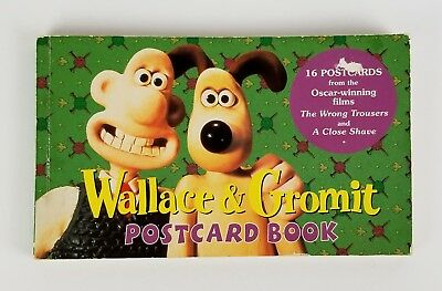 Wallace and Gromit Postcard Book Vintage Postcards Animated Movie Stills