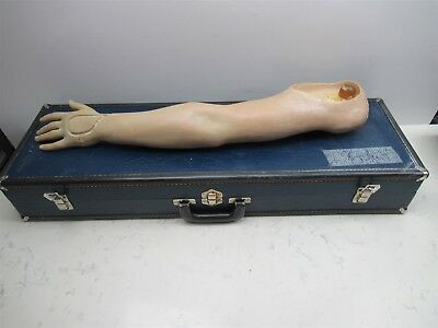 Nasco Life Form Medical Training Manikin Arm White Caucasian Nursing Trainer