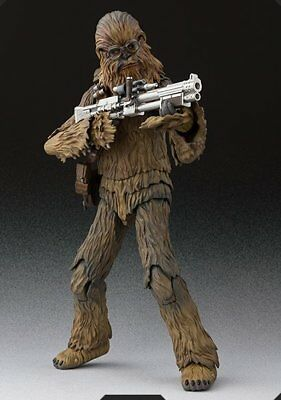 BANDAI S.H.Figuarts Chewbacca (SOLO) Action Figure Star Wars IN STOCK