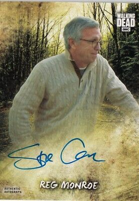 The Walking Dead Road To Alexandria - Steve Coulter (Reg Monroe) Autograph Card
