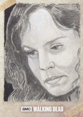The Walking Dead Road To Alexandria - Shaow Siong (Lori) Sketch Card