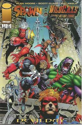 SPAWN / WILDCATS (1996) #1-4 SET - Back Issue (S)