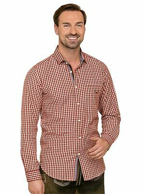 Stockerpoint Traditional Shirt Long Sleeve Modern Fit Levy Dark Red