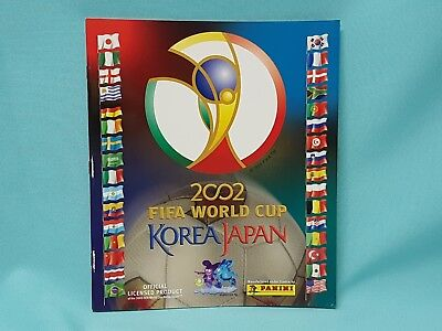 Panini WM 2002 Korea Japan World Cup Sticker Sammelalbum Album Leeralbum