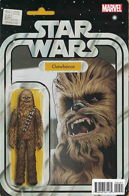 Star Wars #4 Christopher Chewbacca Action Figure Variant Marvel 2015