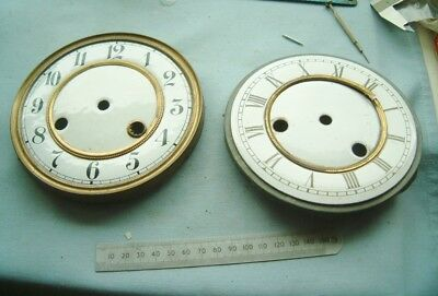 Clock makers Vienna  Clock enamel dials nice spare clock for repairer vienna