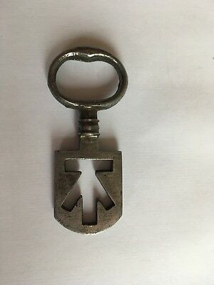Antique Georgian Scottish Edinburgh Tenement Odell Latch Key