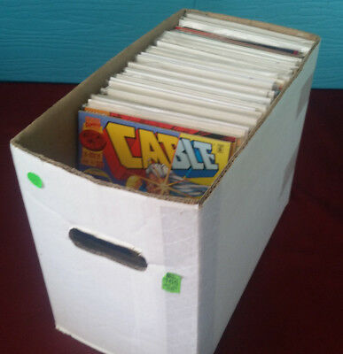 Large Comic Book Collection Over 100 Comics Assorted DC, Marvel, Independent