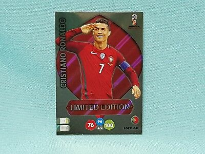Panini Adrenalyn World Cup Russia 2018 WM Ronaldo - Limited Edition