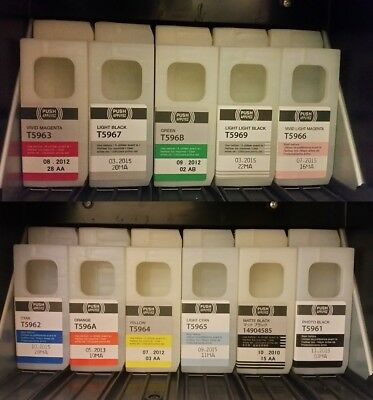 Epson Stylus Pro 7900 and 9900 INK lot. Various colors and levels. See listing