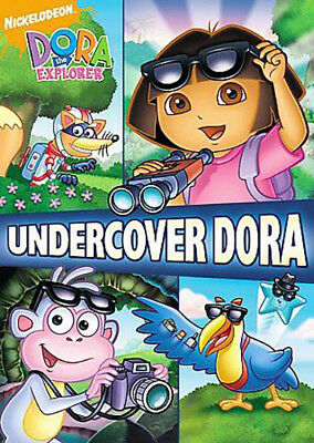 Dora The Explorer - Undercover Dora~ DVD ~  Good condition!