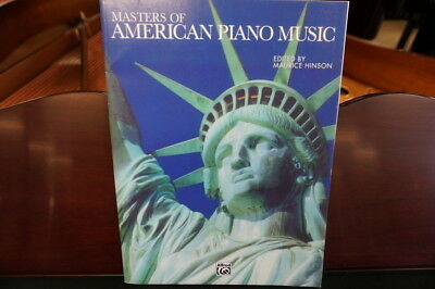 Masters Of American Piano Music