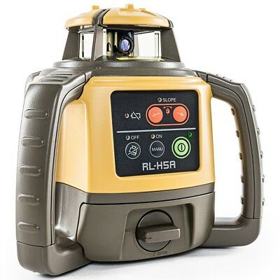 Topcon RL-H5A Self-Leveling Rotary Grade Laser Level & Free Tripod