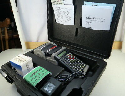 Brady TLS2200 Thermal Labeling System W/ Case -- NEW Battery- (f341n)