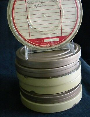 7 Super 8mm film reels ~home movies, family vacation, freeway construction