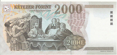 Ungarn / Hungary - 2000 Forint 2002 UNC - Pick 190a