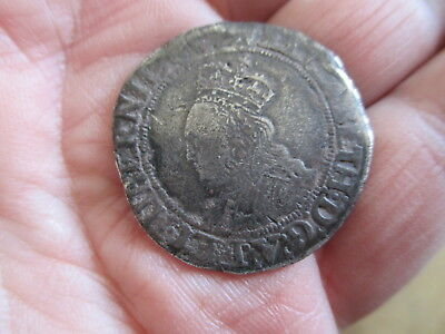 VERY RARE QUEEN Elizabeth I Silver Coin