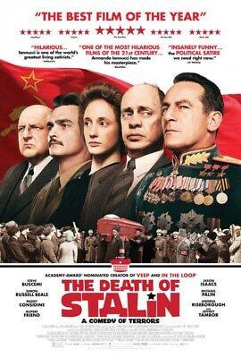 The Death of Stalin 11x17 Promo Movie POSTER