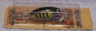 Rare Luhr Jensen Nippin Sam Wood Lure  04/14/18Med   In Pack Yellow Coachdog