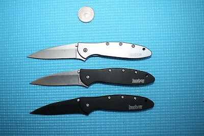 LOT OF 3 KERSHAW 1660 KNIVES  SPEEDSAFE USA    Knife