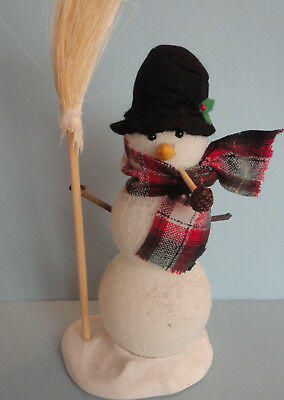Byers Choice Carolers Snowman Accessory 1992 please read