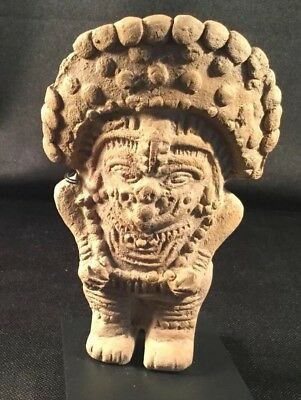 Authentic Pre Columbian Clay Figure From Ecuador