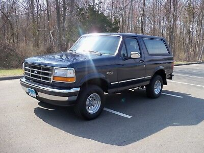1993 Ford Bronco 57K ACTUAL MILES ORIGINAL 1993 Bronco XLT-EXCELLENT CONDITION-FRESHLY DETAILED AND SERVICED-57,000 MILES!!