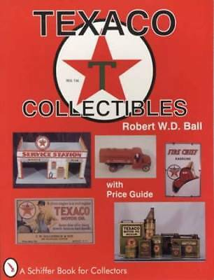 Vintage Texaco Oil & Gas Station Collector Guide - Equip, Adv Promo, Signs Etc